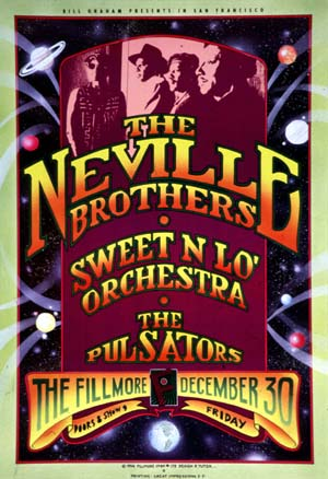Fillmore with the Neville Brothers